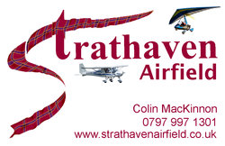 Strathaven Airfield business card